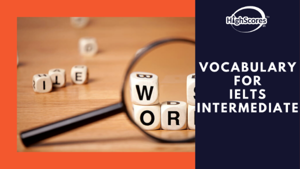 Vocabulary for IELTS - Intermediate cover