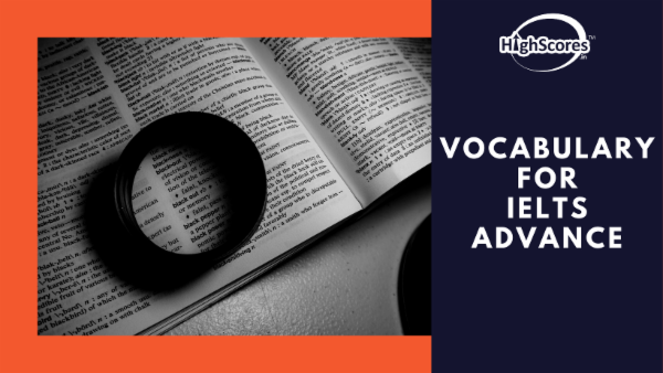 Vocabulary for IELTS - Advance cover