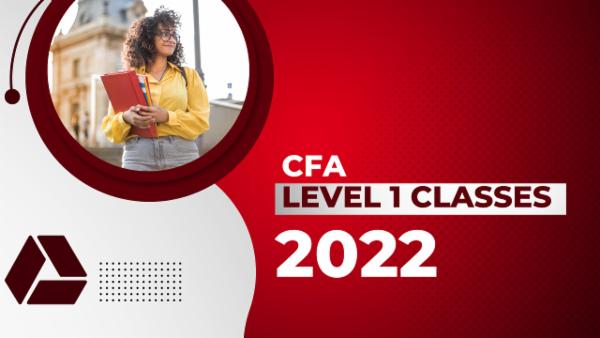 CFA Level 1 Classes 2022 - Google Drive cover