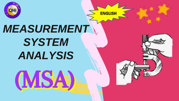 Measurement System Analysis (MSA) cover