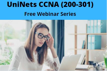 UniNets-CCNA Webinar Series cover