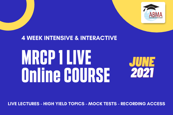 MRCP P1 Live Course - June 2021 cover
