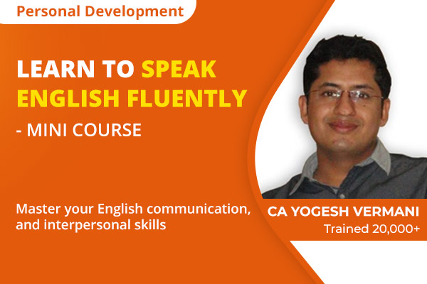 Mini English Speaking Course - How to Speak English Fluently cover
