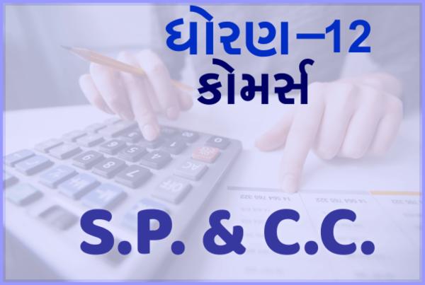 STD-12 Com. S.P. & C.C. cover