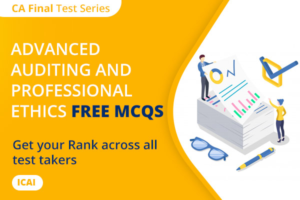 CA FINAL Advanced Auditing and Professional Ethics Free MCQs cover