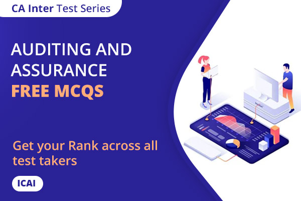CA INTER Auditing and Assurance Free MCQs cover