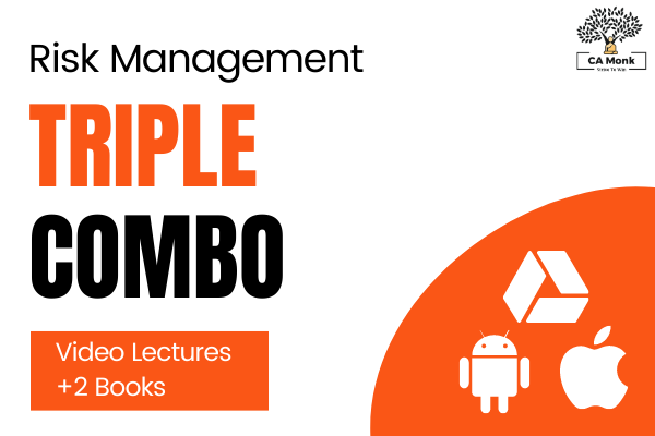 Risk Management CA Final Triple Combo for Nov 2021 cover