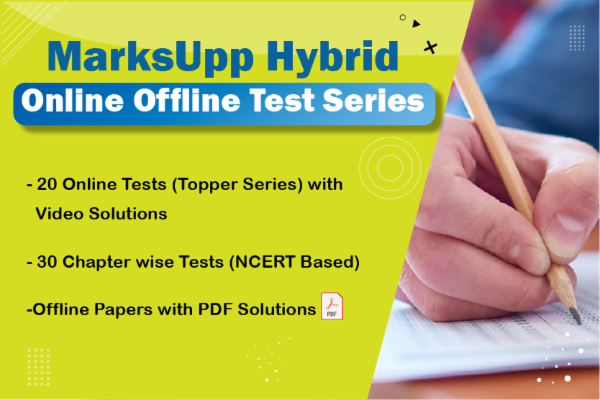 Online + Offline Hybrid Test series NEET 2021/22 cover