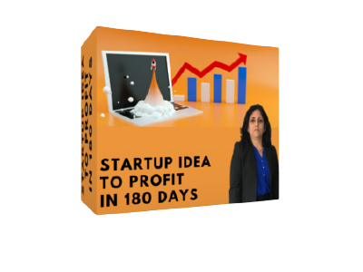 Startup Idea to Profit in 180 Days cover