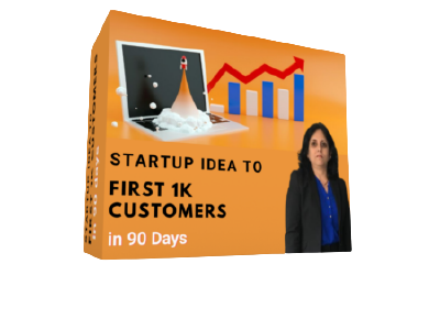 Startup Idea to First 1K Customers in 90 Days cover