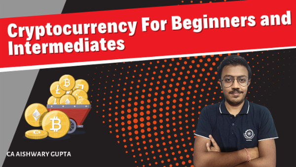 Cryptocurrency For Beginners and Intermediates cover