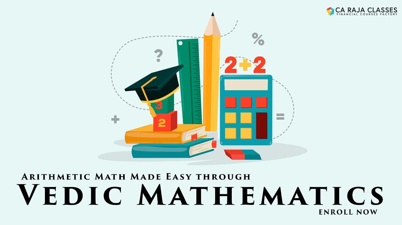 Arithmetic Math Made Easy through Vedic Mathematics cover