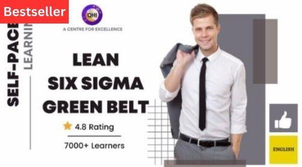 Lean Six Sigma Green Belt (LSSGB) -English cover