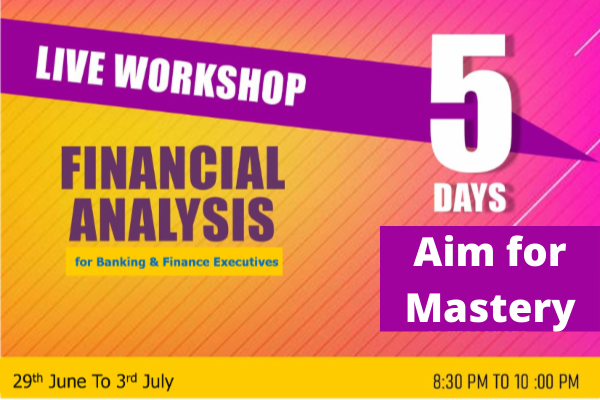 5 Days LIVE Workshop on Financial Analysis cover