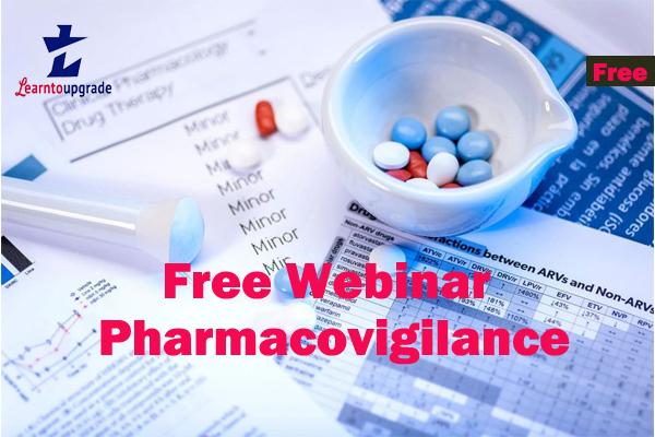 Pharmacovigilance Free Webinar cover