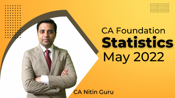 CA Foundation Statistics for May 2022 | Mobile App cover