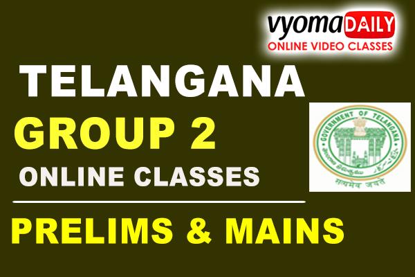 Telangana Group 2 Online Coaching 2021 in Telugu cover