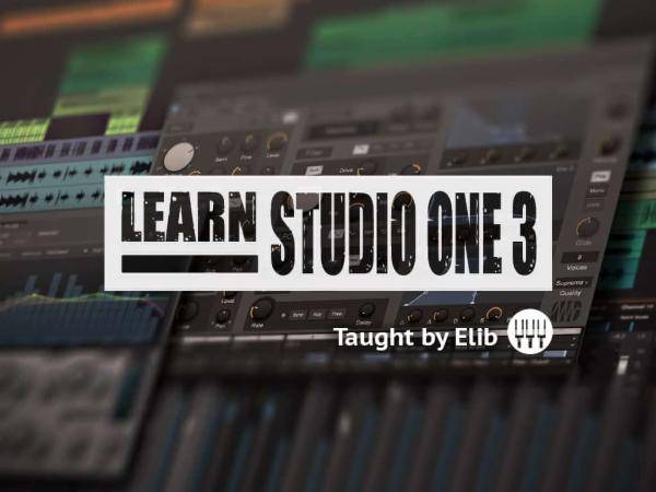 Learning Studio One 3 cover