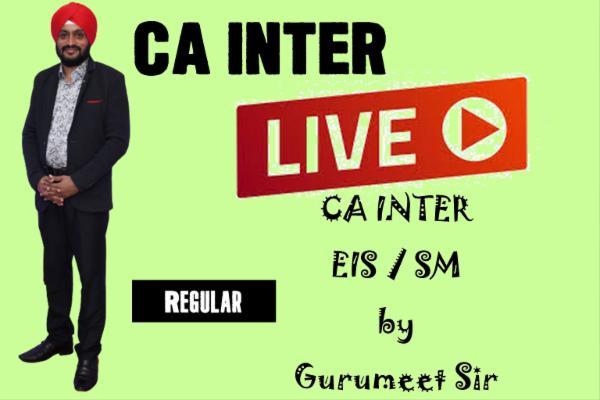 CA INTER - EIS / SM - LIVE cover