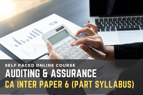 Paper 6: Audit & Assurance (Part Syllabus Only) cover