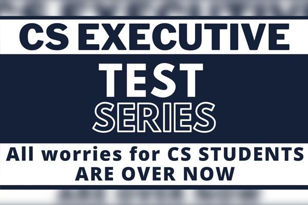Test Series - CS Executive cover