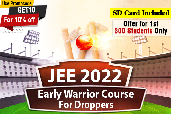 JEE Early Warrior Course - For Droppers (2022) cover