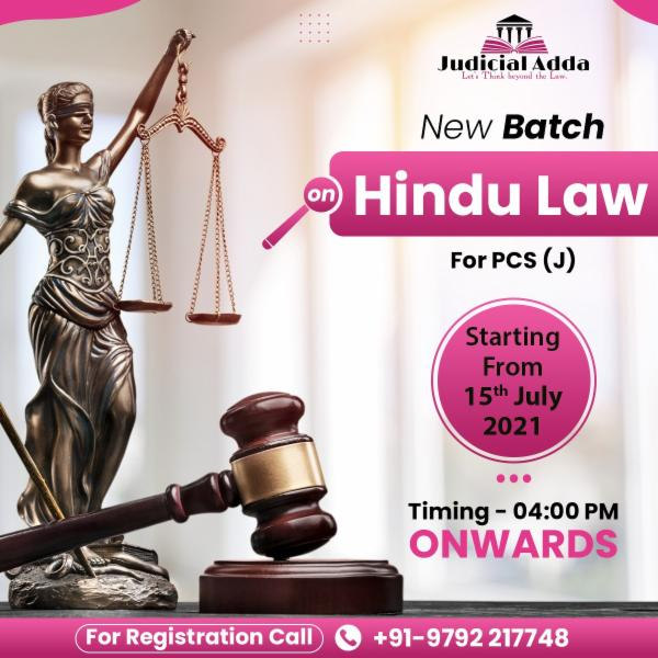 Hindu Law cover