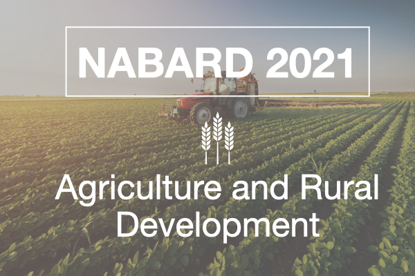 Agriculture and Rural Development cover