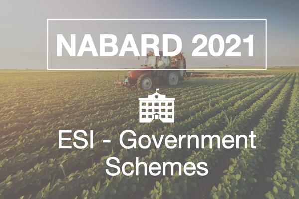 ESI Government Schemes cover