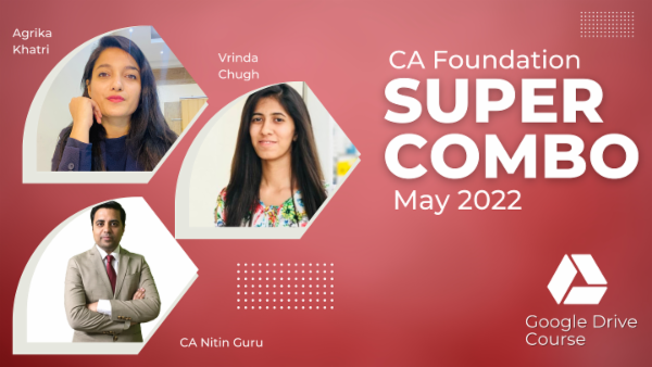 CA Foundation May 2022 Combo- Google Drive cover