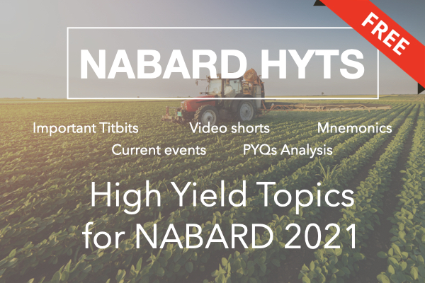 NABARD HYTs [High Yield Topics] + Sample Course cover