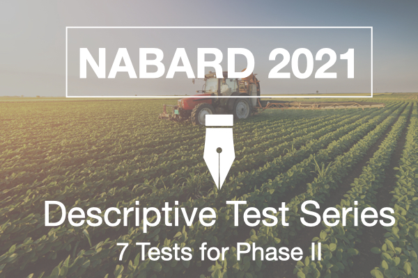 NABARD Descriptive Test Series cover