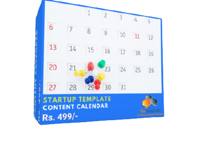 Ready-To-Use Template - Content Calendar cover