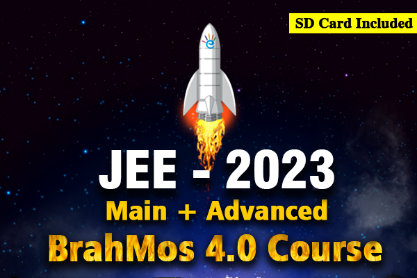 JEE 2023 Main + Advanced BrahMos 4.0 Course cover