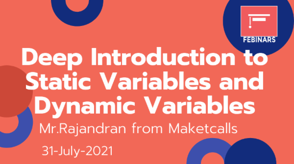Deep Introduction to Static Variables and Dynamic Variables cover