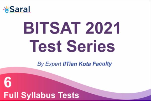 BITSAT Test Series - 2021 cover