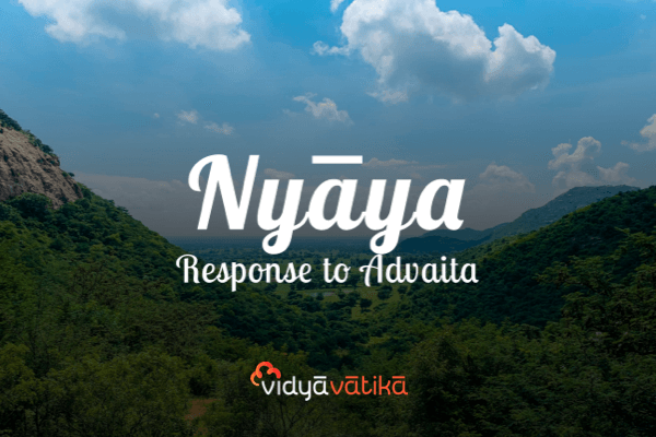 Nyaya Response to Advaita cover