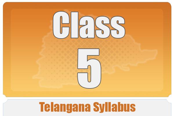 CLASS 5 TELANGANA SYLLABUS cover