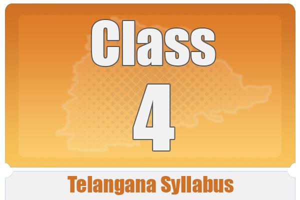 CLASS 4 TELANGANA SYLLABUS cover