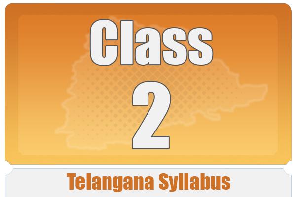 CLASS 2 TELANGANA SYLLABUS cover