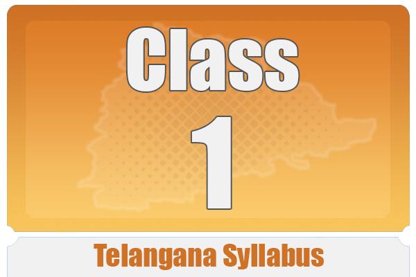 CLASS 1 TELANGANA SYLLABUS cover
