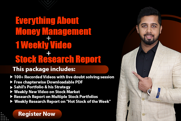 Everything about money management + Weekly Market Analysis + Stock Portfolios Research Report cover