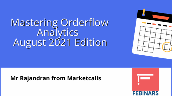 Mastering Orderflow Analytics Aug 2021 Edition cover