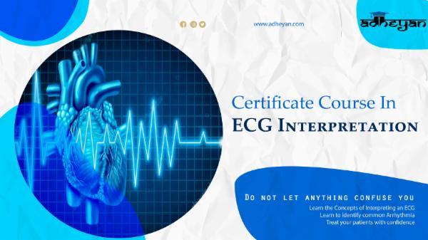 Certificate Course in ECG Interpretation cover