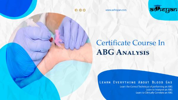 Certificate Course in ABG Analysis cover