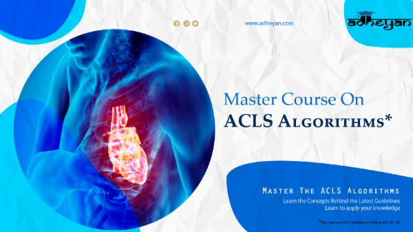 Master Course on ACLS Algorithms cover