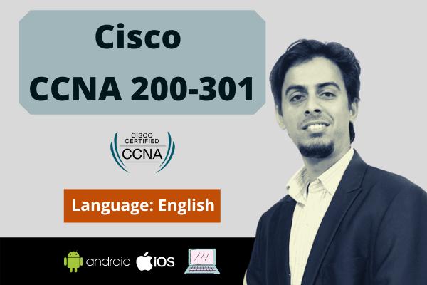 CCNA: Cisco Certified Network Associate (CCNA 200-301) cover