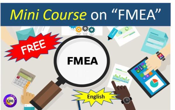 FMEA Free MINI COURSE cover