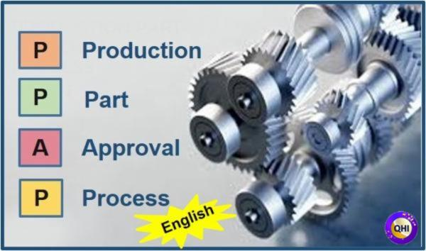 Production Part Approval Process (PPAP)- English cover