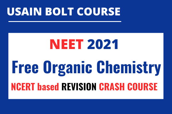 Usain Bolt Organic Chemistry Crash Course cover